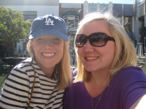 Me and Tasha at the Grove