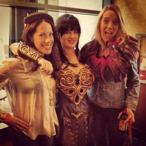 Rachel Tasha and Fake Xena
